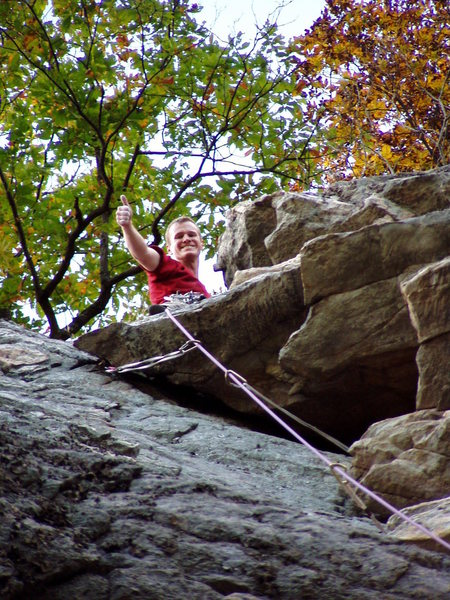 Rock Climbing Photo: A succesful return back to the first climb I ever ...