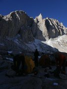 Rock Climbing Photo: Packing up at camp at upper boyscout lake