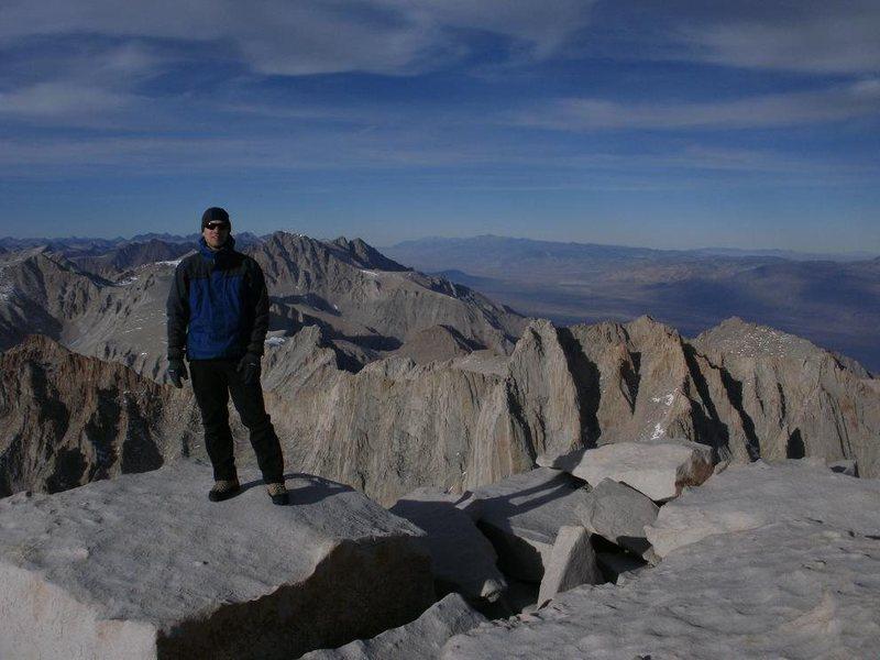 Mt Whitney's summit 14,496'