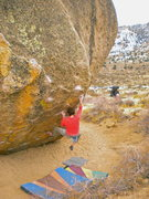 Rock Climbing Photo: Bubba Gump  V10