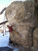 Rock Climbing Photo: Fun slooper moves.