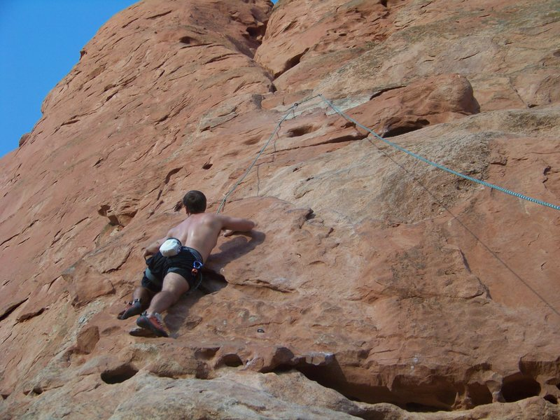 climb on