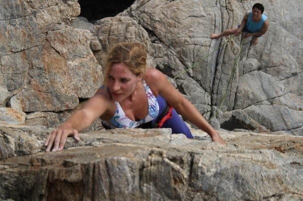 sonia at hagampo sea cliffs