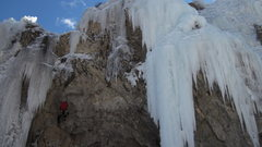 Rock Climbing Photo: Mixed terrain, Lake City ice park.