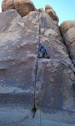 Rock Climbing Photo: Nice rest here.