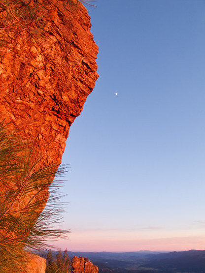 Rock Climbing Photo: Wrathchild 5.11c/d follows the prominent arete (Ha...