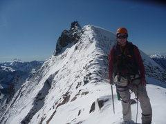 Rock Climbing Photo: Myself on Sahale Mountain