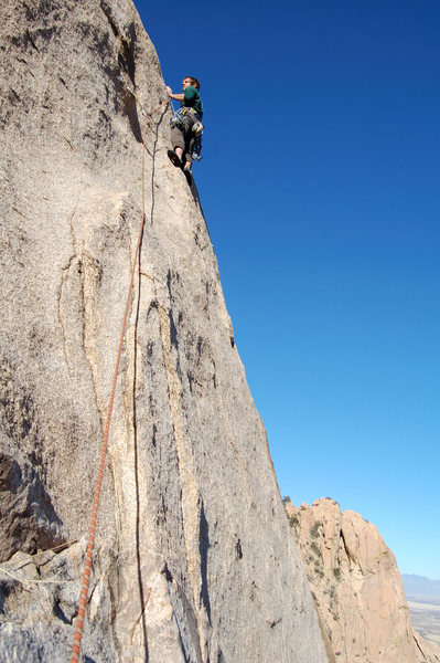 Rock Climbing Photo: 2nd pitch of Arribas