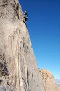 Rock Climbing Photo: 2nd pitch of Arribas