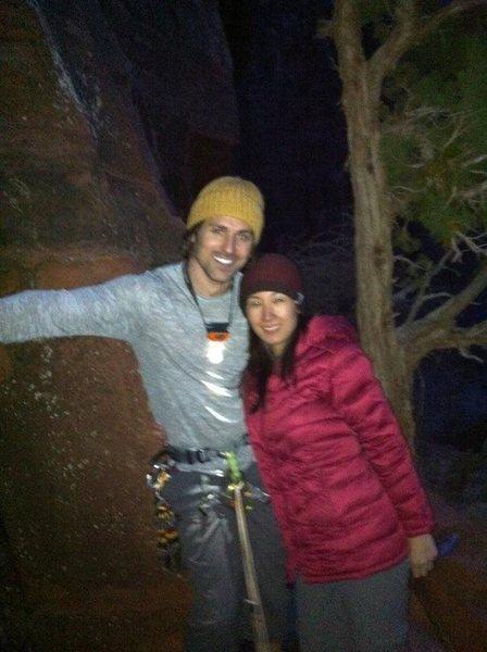 Rock Climbing Photo: After a good climb