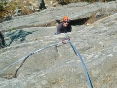 Rock Climbing Photo: Following