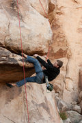 Rock Climbing Photo: Cory on Head over Heals 5.10a
