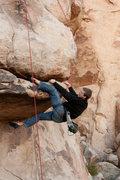 Rock Climbing Photo: Cory on Head over Heals 5.10a