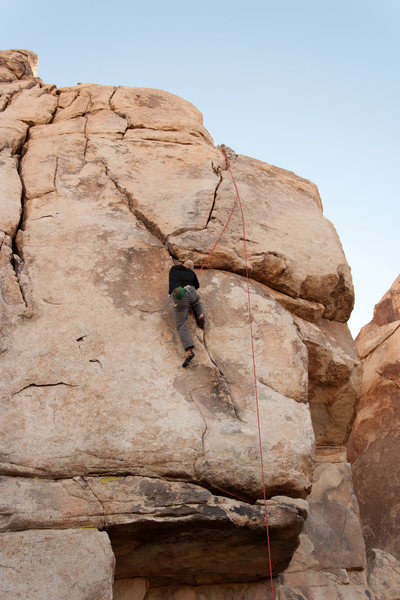 Rock Climbing Photo: Nelson on Head over Heals (victory lap)