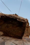 Rock Climbing Photo: Head over Heals view from bottom (Nelson leading)