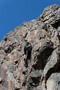 Rock Climbing Photo: Nelson leading Improbable