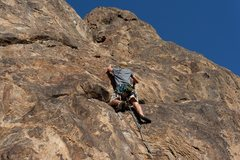 Rock Climbing Photo: Cory Smith onsites Welcome to NJC