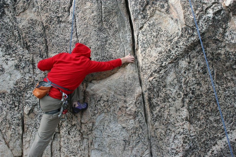 Rock Climbing Photo: Krissy