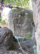 Rock Climbing Photo: View from just in front of Shoehorn