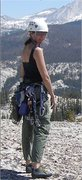 Rock Climbing Photo: On top of Daff Dome after climbing either West Cra...