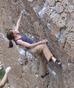 Rock Climbing Photo: Happy Boulders, not sure of date, between 2001-200...