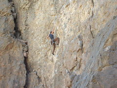 Rock Climbing Photo: Leading a 10c in ORG, 2005