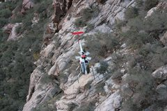 Rock Climbing Photo: Helicopter assisted rescue, viewpoint Rock Warrior