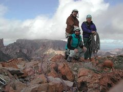 Rock Climbing Photo: Summit Squaw Peak in Kofa NWR with Paul Horton and...