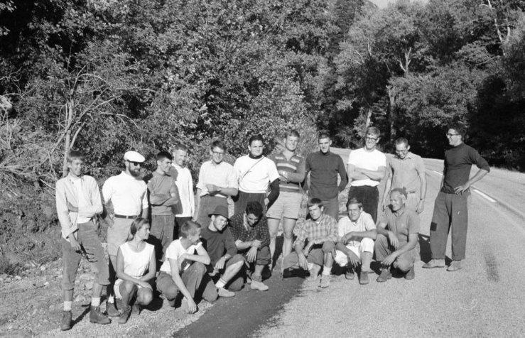 Rock Climbing Photo: Heroes, 1964