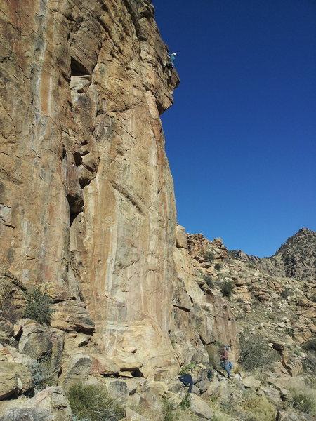 Rock Climbing Photo: Joel Hunt finishing EBC