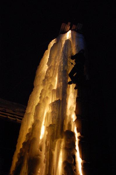 Rock Climbing Photo: Light climb