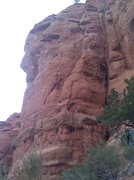 Rock Climbing Photo: Black Arrow.