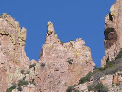 Rock Climbing Photo: Finger Rock (From Finger Rock Trail)