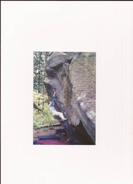 Rock Climbing Photo: Quinn