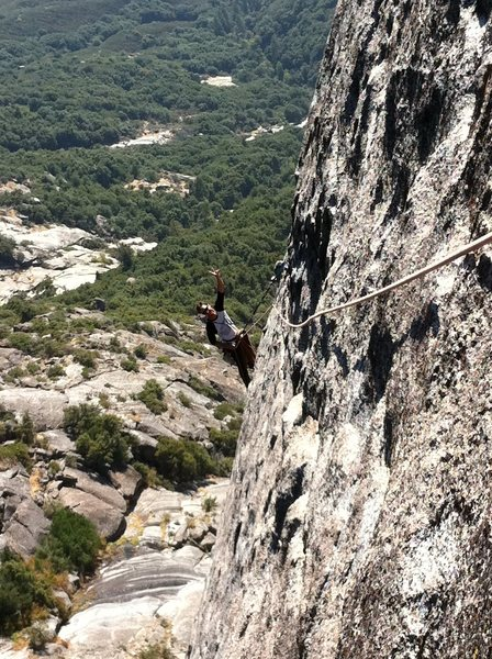 Rock Climbing Photo: the Route is Ladies on Top. 5.8 trad. 4 pitches. S...