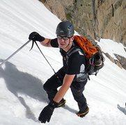 Rock Climbing Photo: Loft route on Mt. Meeker