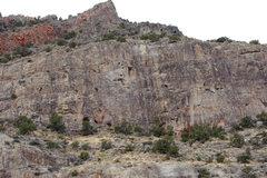 Rock Climbing Photo: Buffalo Bill Wall