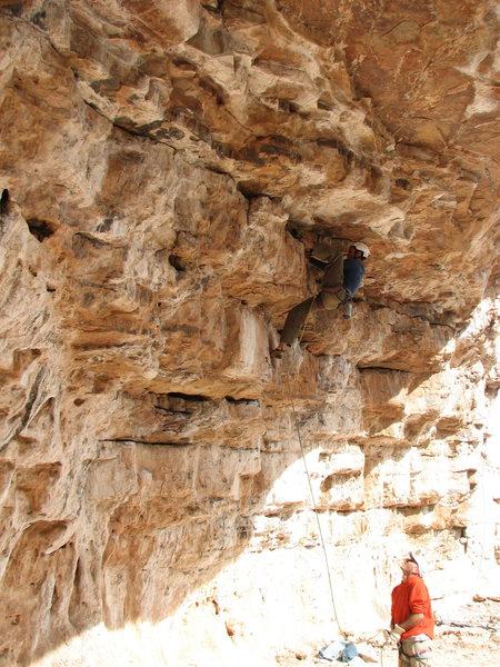Rock Climbing Photo: Jesse on RM