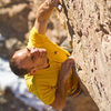 &quot;Respect to you, tiny Ant King!&quot;<br> <br> Moving through the crux groove of Lead Farmer.<br> <br> Photo © Ryan Day Thompson, 2012 | www.ryandaythompson.com.