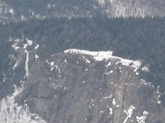 Rock Climbing Photo: Mt Willard seen from Mt Webster