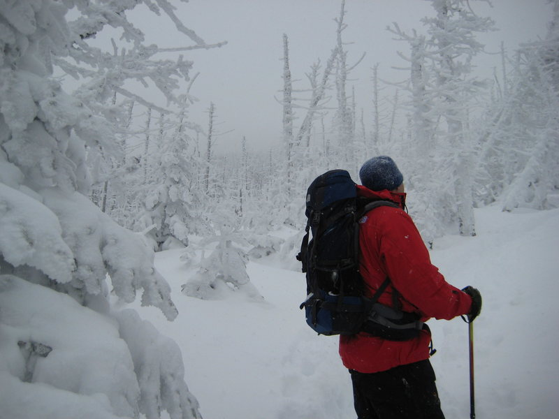 Rock Climbing Photo: New Hampshire winters, we started when it was sunn...