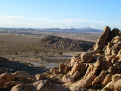 Rock Climbing Photo: Looking past The Thumb to the BMX Track and beyond...