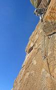 Rock Climbing Photo: Just before battle of the bush Black Velvet (5.9)
