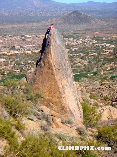 The Wedge, Pinnacle Peak<br> Jan 2011 <br>