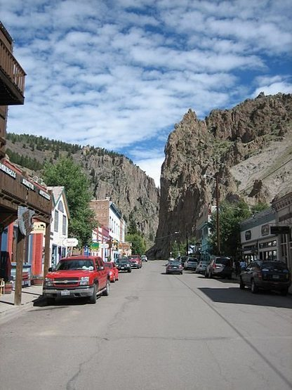 Rock Climbing Photo: Creede downtown