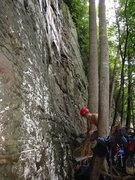Rock Climbing Photo: Good warm up climb.