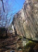 Rock Climbing Photo: South Wall.
