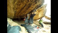 Rock Climbing Photo: The switch.