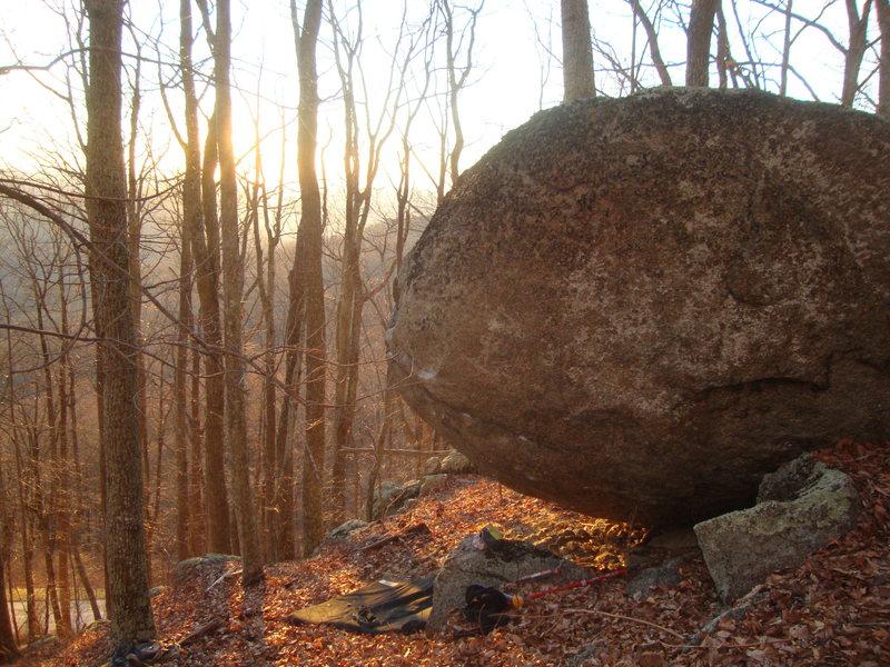 Rock Climbing Photo: gorilla boulder