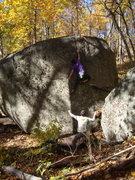 Rock Climbing Photo: smear